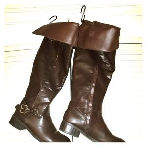 JustFab Shoes - Women's OVER THE KNEE Boots